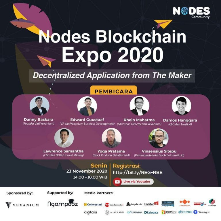 "Nodes Blockchain Expo Webinar ""Decentralize Application from The Maker"""